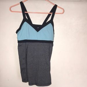 Kyodan  tank top with built in bra